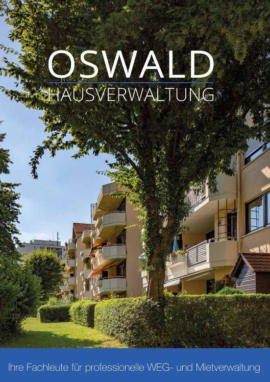 Firmenbroschüre Oswald Hausverwaltung
